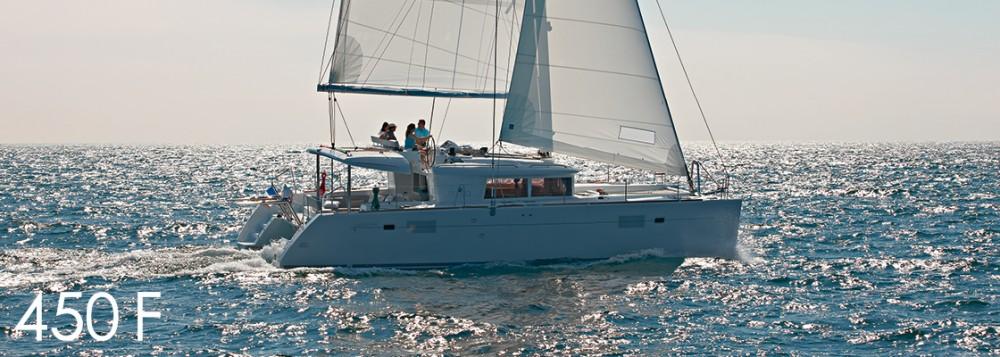 Rental yacht Portocolom - Lagoon Lagoon 450 F - 4 + 2 cab. on SamBoat