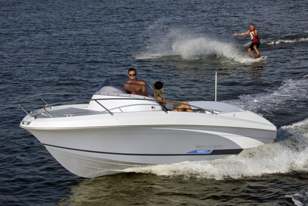 Rental Motorboat in Cogolin - Bénéteau Flyer 650 Sun Deck