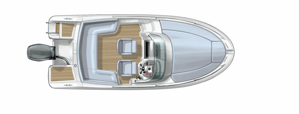 Boat rental Bénéteau Flyer 650 Sun Deck in Cogolin on Samboat