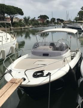 Rental Motorboat in Cogolin - Jeanneau Cap Camarat 7.5 WA Serie 2