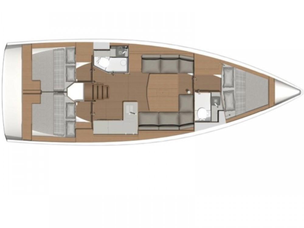 Rental Sailboat in Capo d'Orlando - Dufour Dufour 390 Grand Large