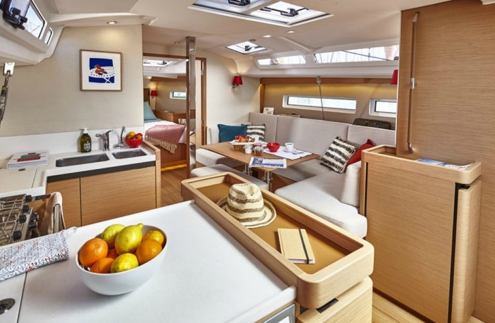 Hire Sailboat with or without skipper Jeanneau Atene
