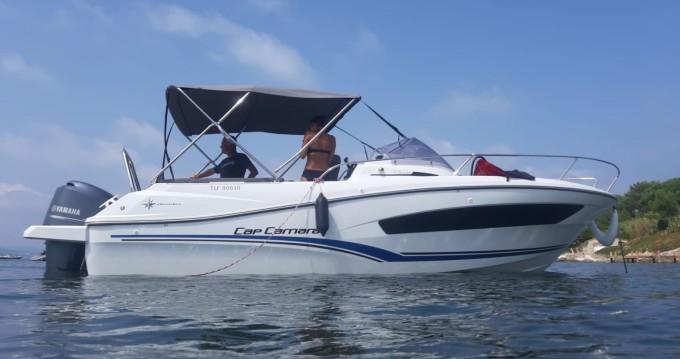Rental Motorboat in Cogolin - Jeanneau Cap Camarat 7.5