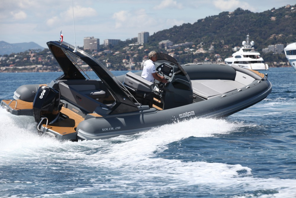 Hire RIB with or without skipper Salpa Antibes