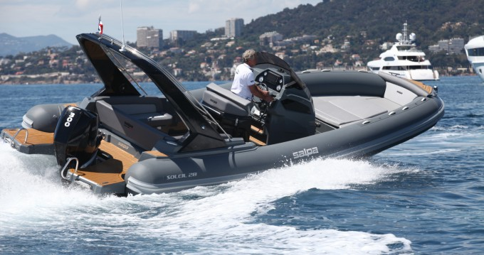 RIB for rent Antibes at the best price