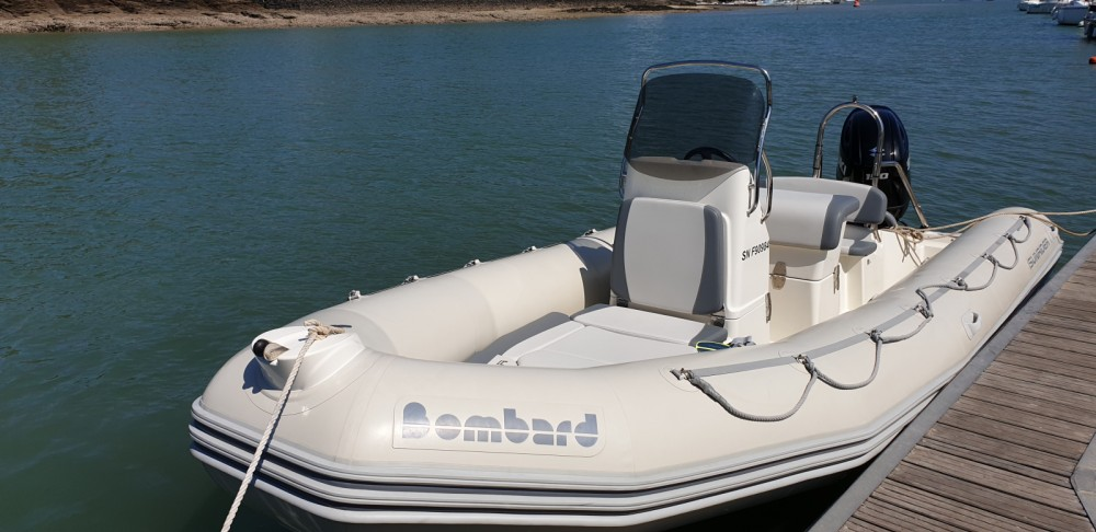 Bombard Sunrider 650 Gris between personal and professional Pornic