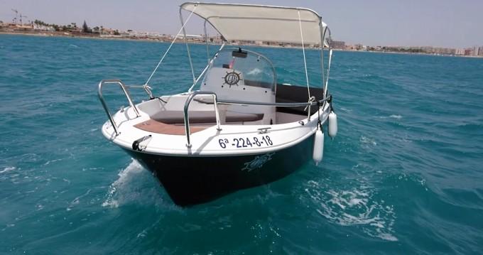 Boat rental Admiral Admiral 470WA Oceanmaster in Torrevieja on Samboat