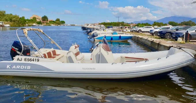 Hire RIB with or without skipper Kardis Saint-Florent