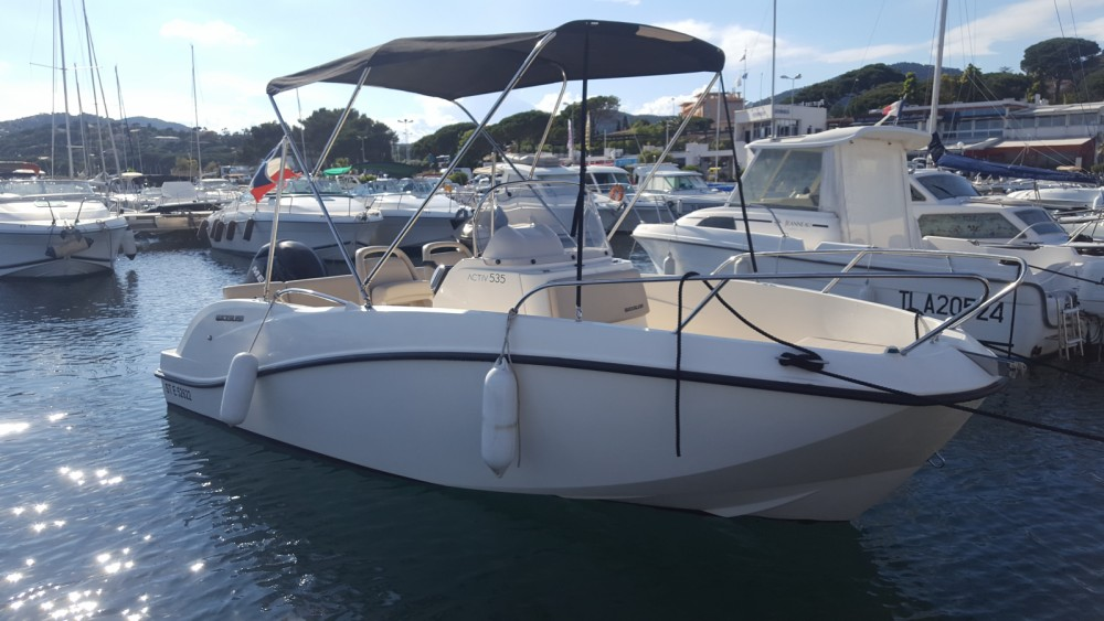 Rent a Quicksilver Activ 535 Open Sainte-Maxime