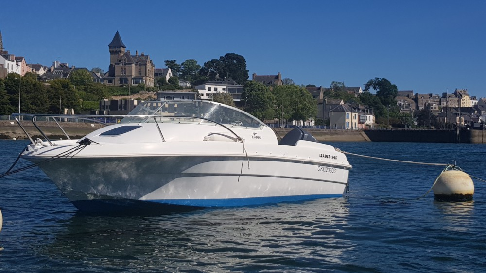 Boat rental Douarnenez cheap Leader 545