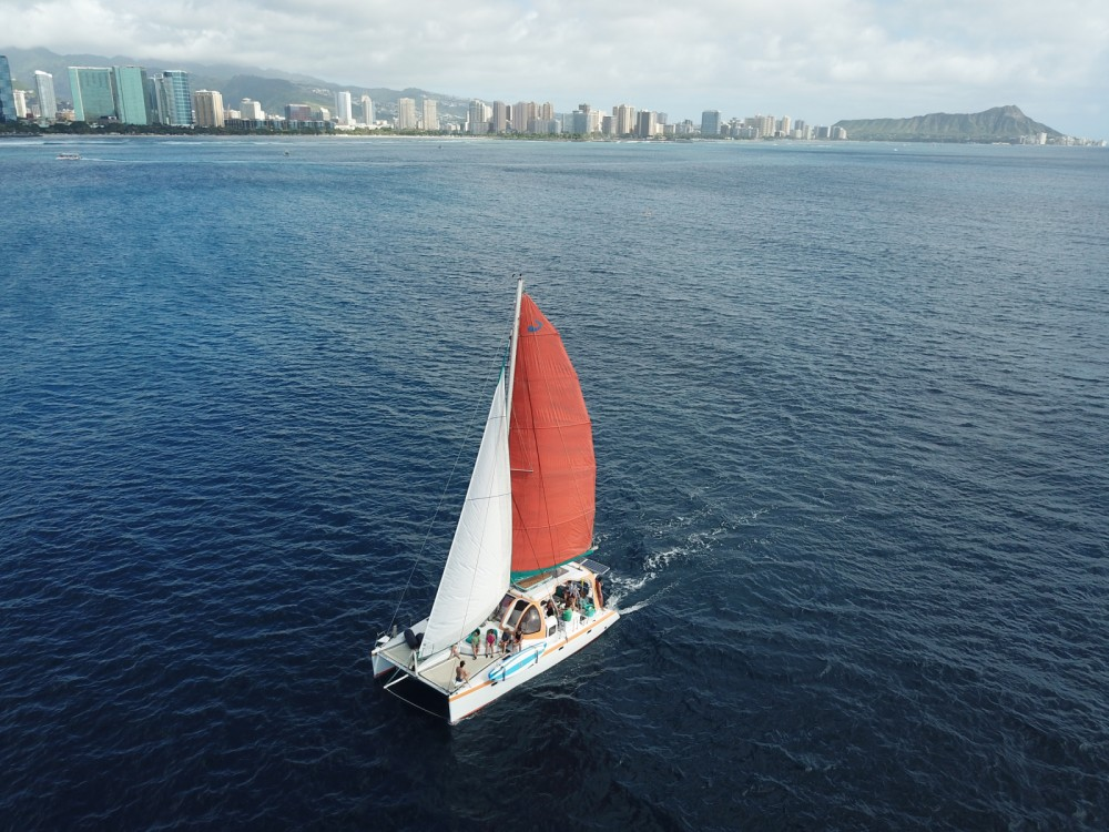 Hire Catamaran with or without skipper Scape  Honolulu