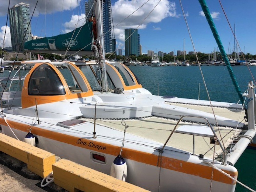 Catamaran for rent Honolulu at the best price