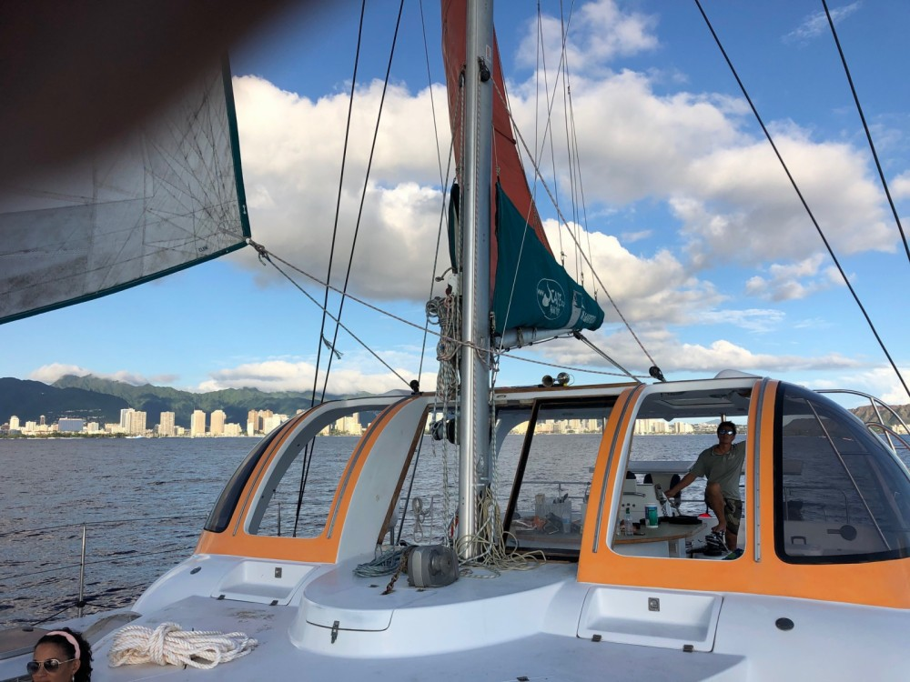 Rental Catamaran Scape  with a permit