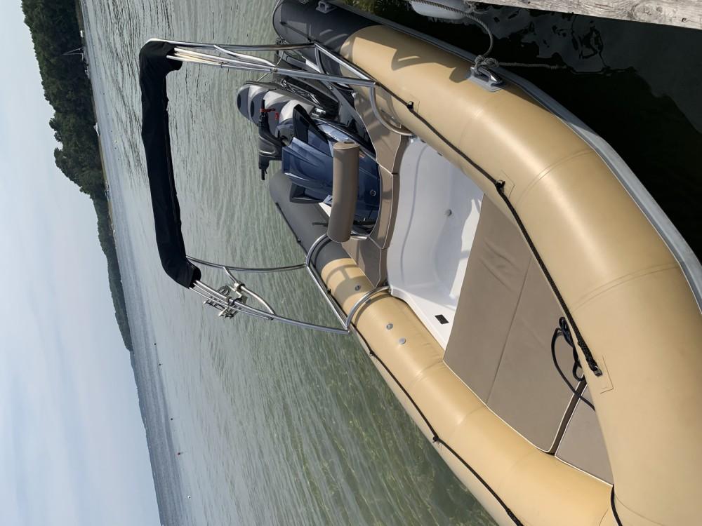 Rental RIB Sealver with a permit