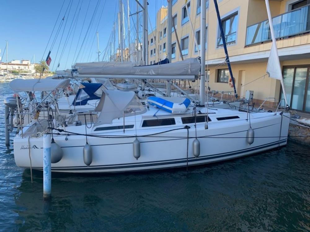Rental yacht Roses - Hanse Hanse 345 on SamBoat