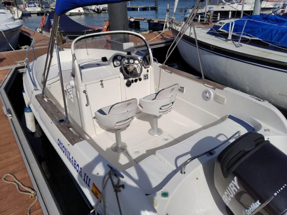 Rental Motorboat in Galicia - Quicksilver Quicksilver 630 Open