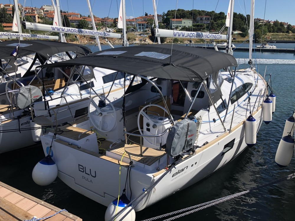 Boat rental Grad Pula cheap Elan Impression 40.1