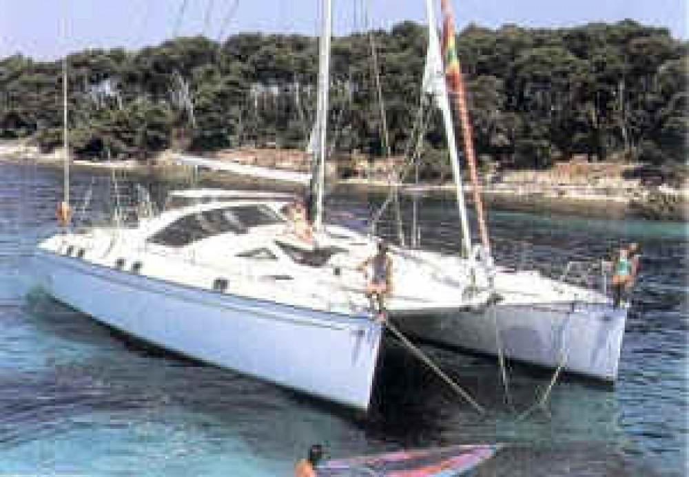 Boat rental Alliaura Privilege 37 in  on Samboat