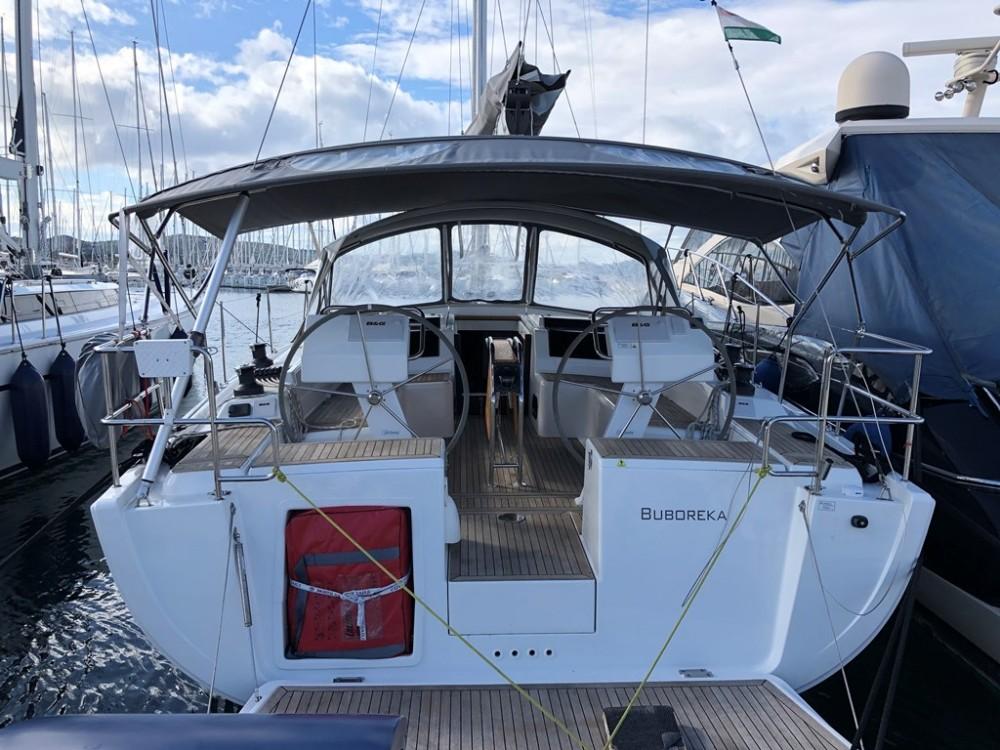 Boat rental Grad Biograd na Moru cheap Hanse 455