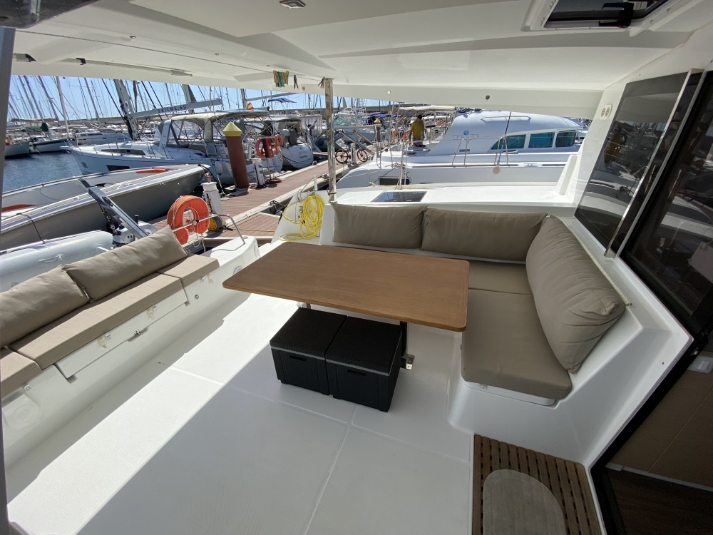 Fountaine Pajot Lucia 40 between personal and professional Palma