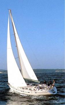 Boat rental Skiathos cheap Jeanneau 439