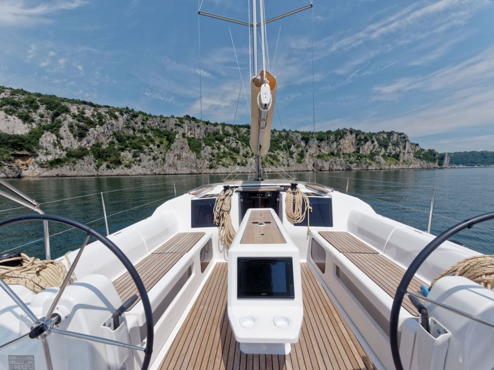 Dufour Dufour 412 Grand Large between personal and professional Marina di Portisco