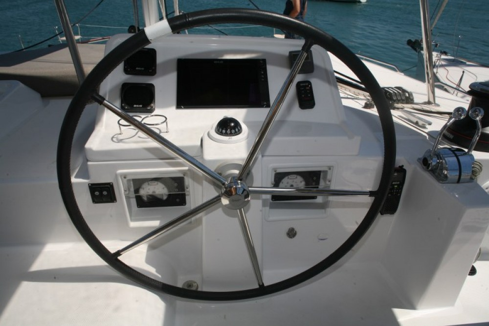 Boat rental Lefkada cheap Lagoon 450  Flybridge