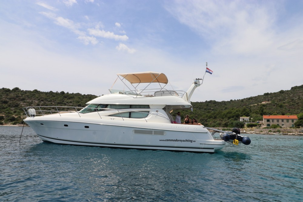 Boat rental ACI Marina Split cheap Jeanneau Prestige 46 Fly