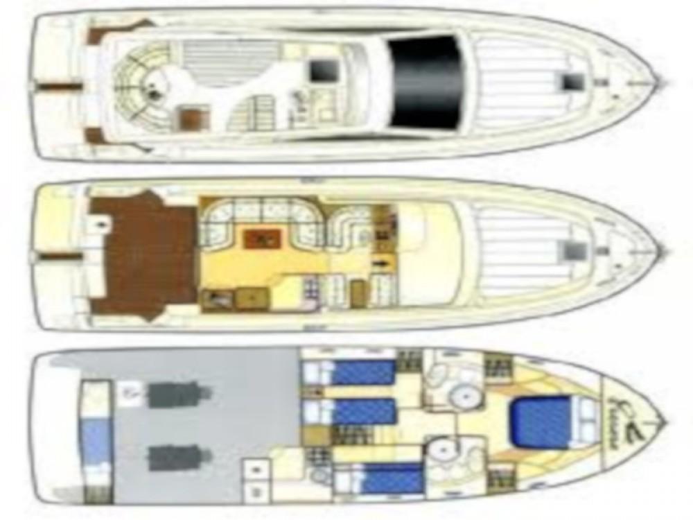 Rental Motor boat Ferreti with a permit