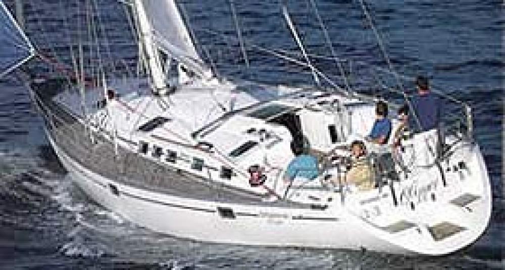 Rent a Hanse Hanse 540e Marina Santa Eulalia