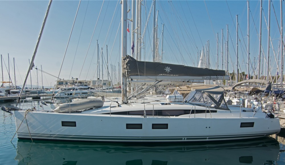 "Boat rental Split cheap Jeanneau 51 ""LUXE"""