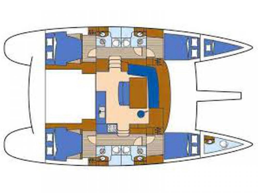 Rental yacht Alimos Marina - Lagoon Lagoon 440 on SamBoat