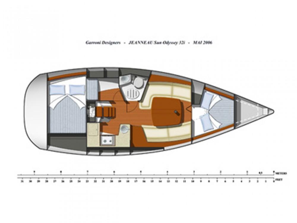 Boat rental Lefkada cheap Sun Odyssey 32 i