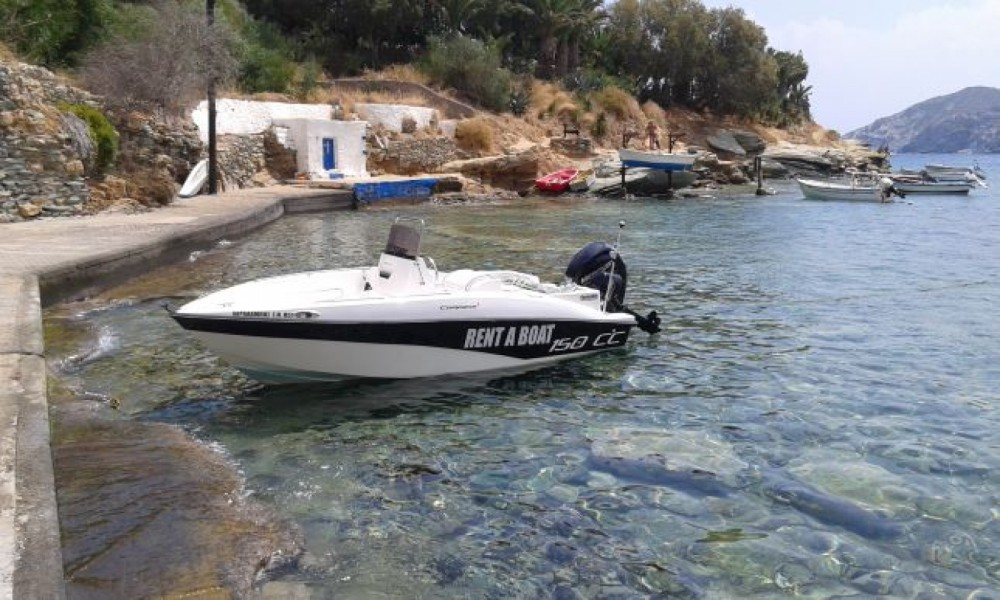Hire Motorboat with or without skipper compass Agia Pelagia