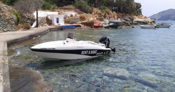 Rental yacht Agia Pelagia - Compass Compass 150 CC on SamBoat