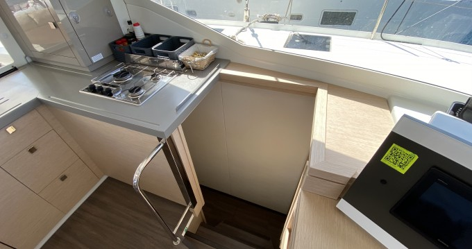 Fountaine Pajot Lucia 40 between personal and professional