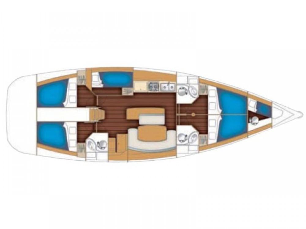 Boat rental Lefkada cheap Cyclades 50.5