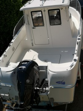 Rental yacht Versoix - Quicksilver 560 pilothouse on SamBoat