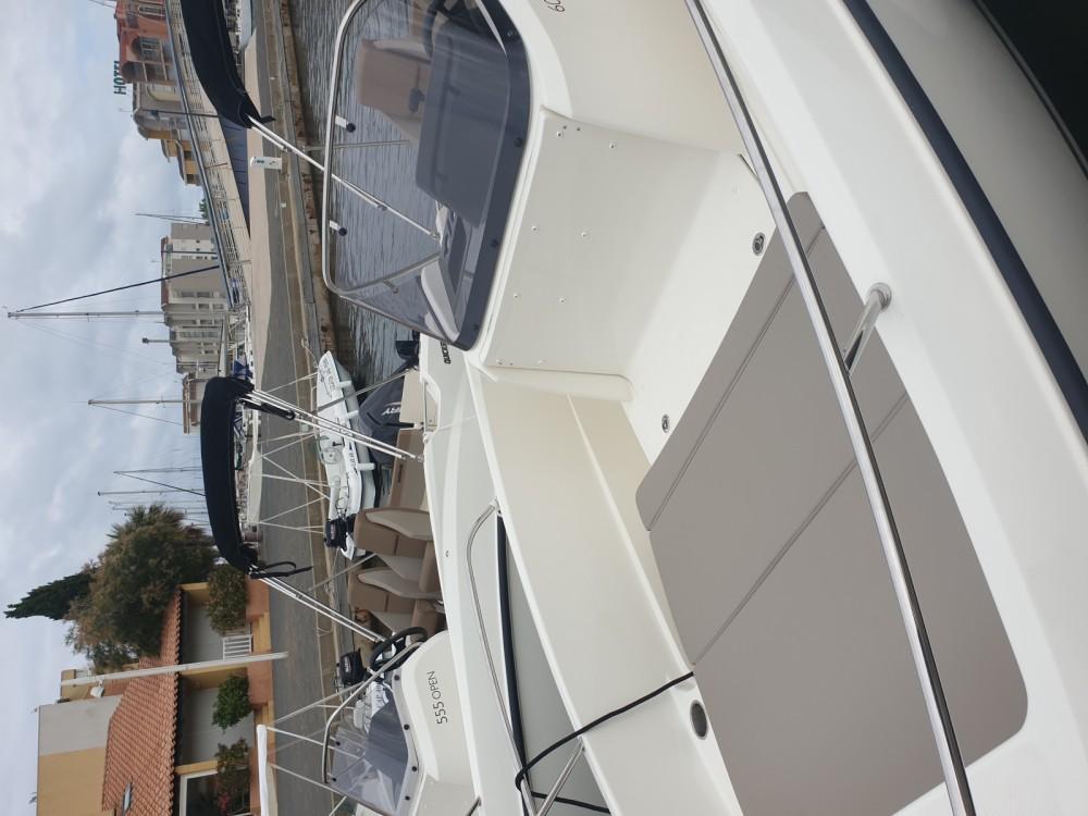 Boat rental Quicksilver Activ 605 Open in Gruissan on Samboat