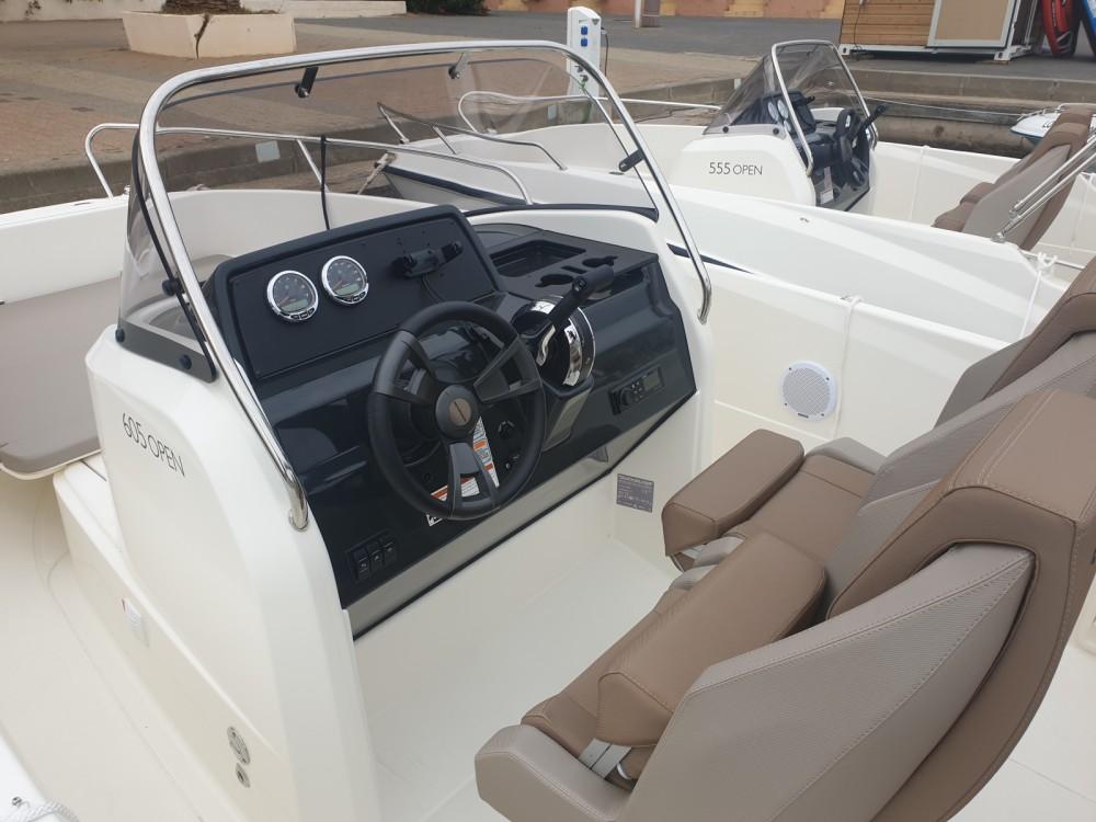 Rental yacht Gruissan - Quicksilver Activ 605 Open on SamBoat