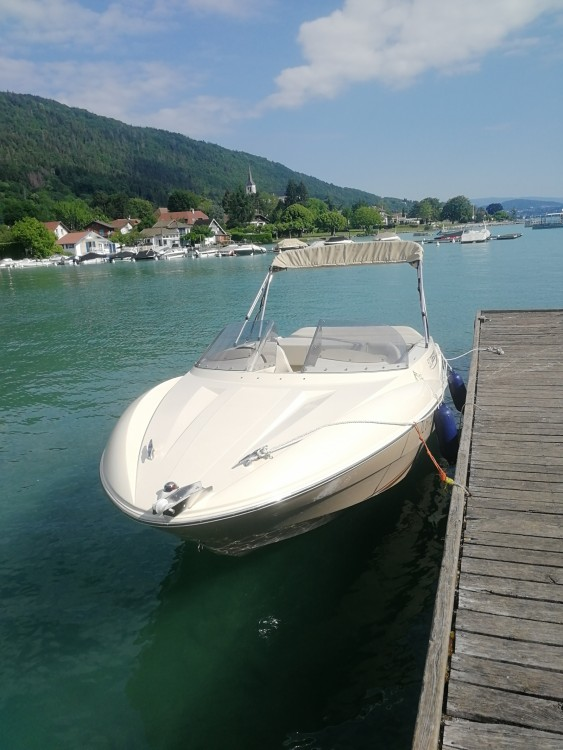 Hire Motorboat with or without skipper Quicksilver Annecy