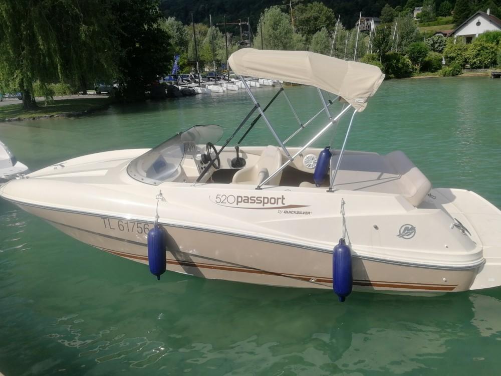 Rental Motorboat in Annecy - Quicksilver Quicksilver 520 Passport
