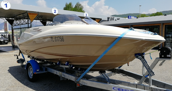 Boat rental Annecy cheap Quicksilver 520 Passport