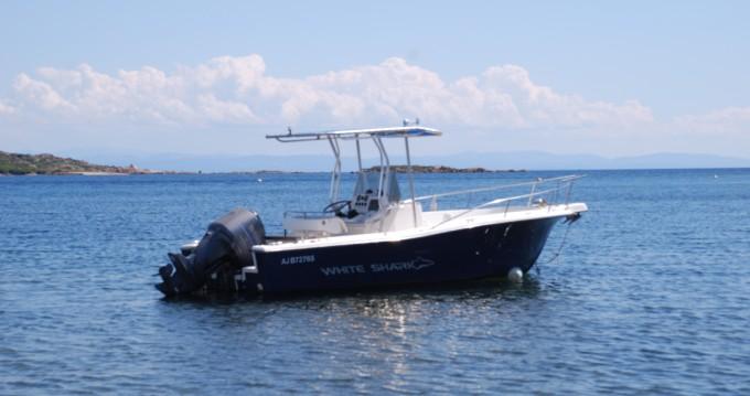 Rental Motorboat in Pianottoli-Caldarello - White Shark White Shark 225