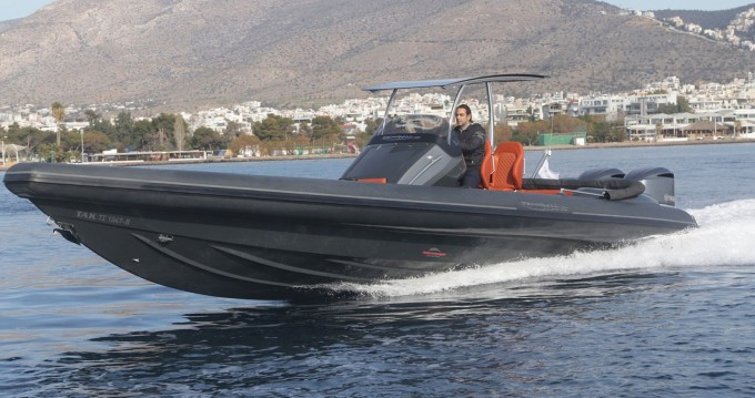 Technohull Sea DNA 999 G5 between personal and professional Athens