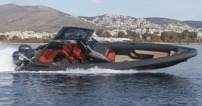Rental RIB in Athens - Technohull Sea DNA 999 G5