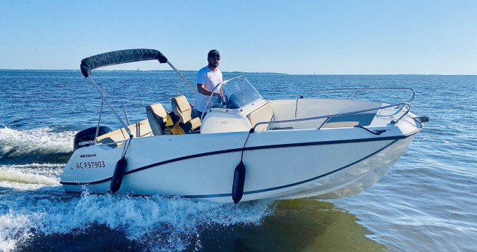 Hire Motorboat with or without skipper Quicksilver Andernos-les-Bains