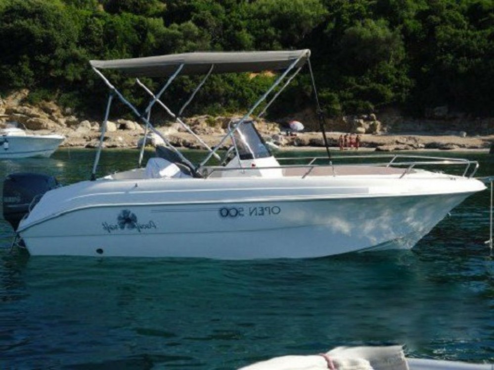 Boat rental Nice cheap Pacific Craft 500 Open