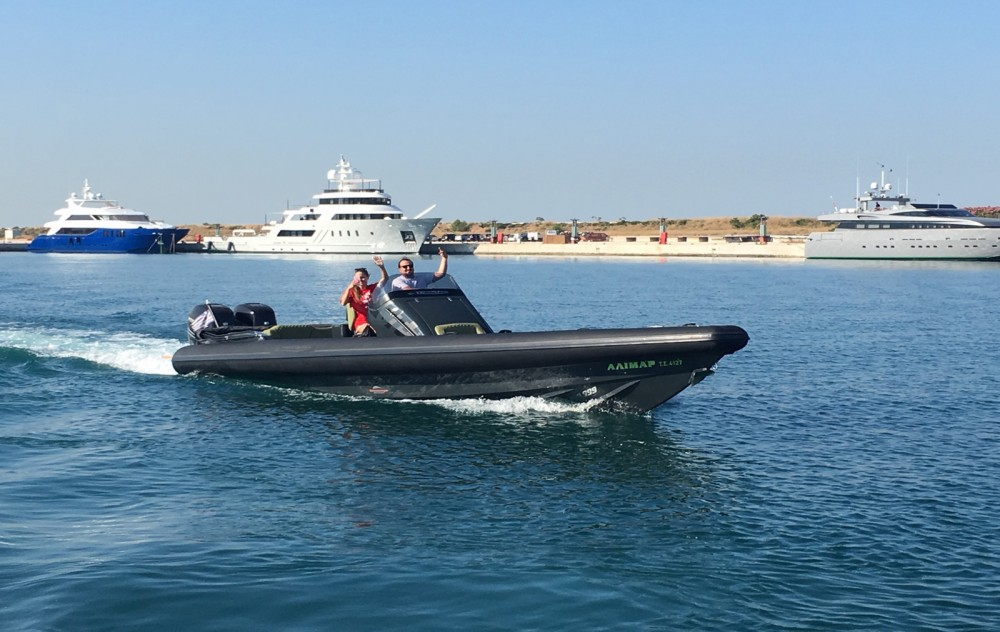 Rental RIB in Athens - Technohull GT 37