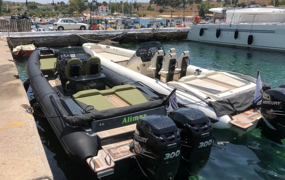 Technohull GT 37 between personal and professional Athens